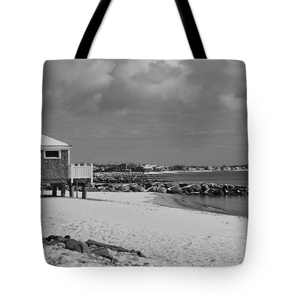 Cape Cod Winter Morning Tote Bag by Catherine Reusch  Daley