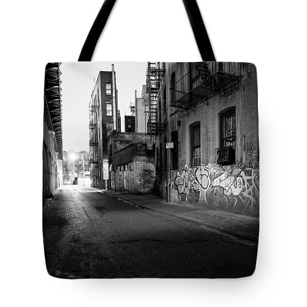 Chinatown New York City - Mechanics Alley Tote Bag by Gary Heller