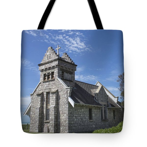 Church In New Zealand Tote Bag