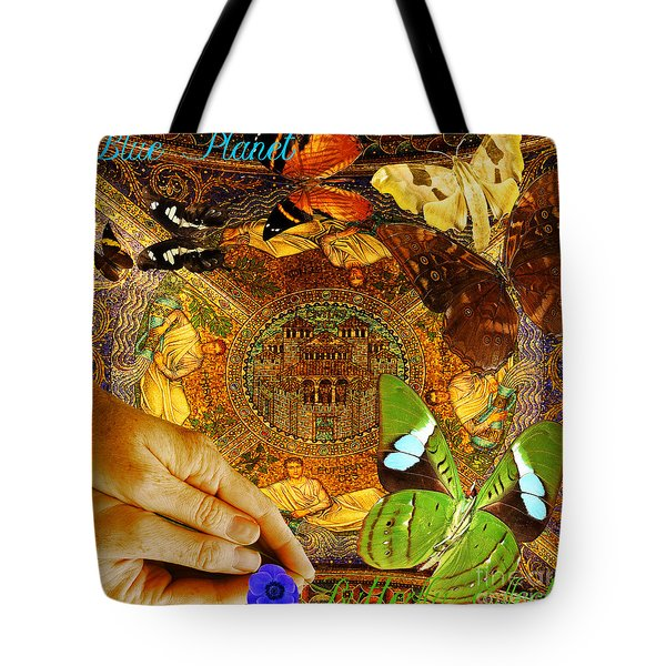 Civitate Dei   City Of God  Tote Bag