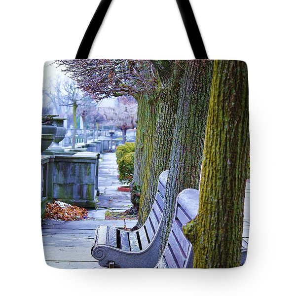 Colours In The Park Tote Bag