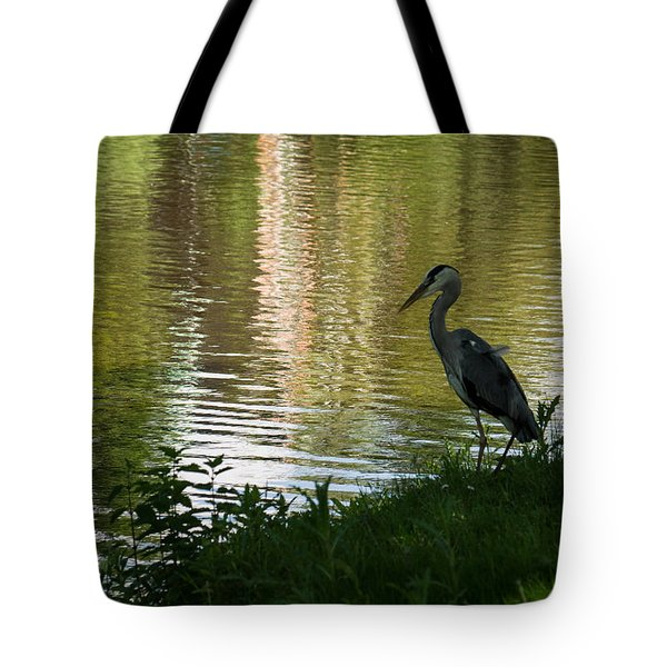 Tote Bag featuring the photograph Contemplating Impressionist Paintings by Georgia Mizuleva