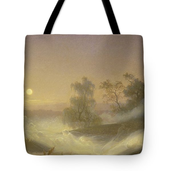 Dancing Fairies Tote Bag by August Malmstrom