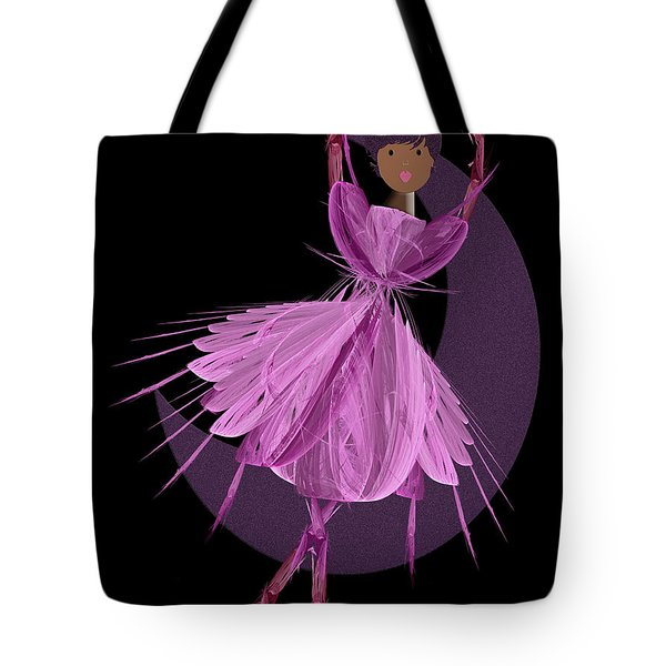 Dancing With The Moon B Tote Bag by Andee Design