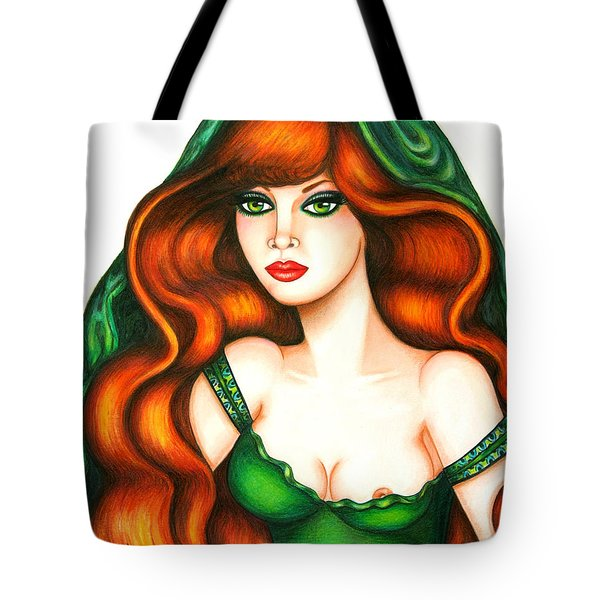 Daring Red Tote Bag