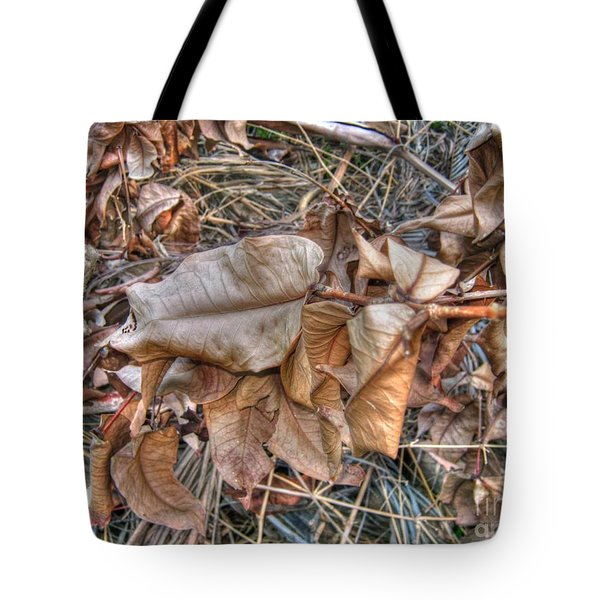 Dead Leaves Tote Bag by Michelle Meenawong