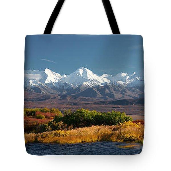 Denali's Path Tote Bag