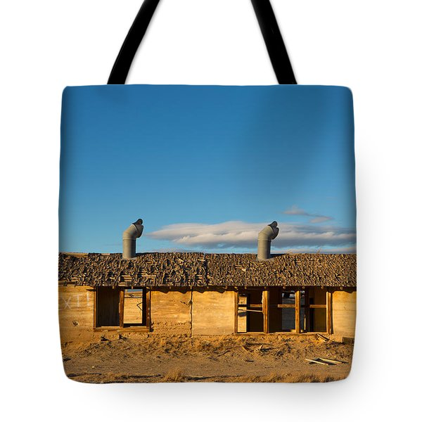 Derelict Shack. Tote Bag