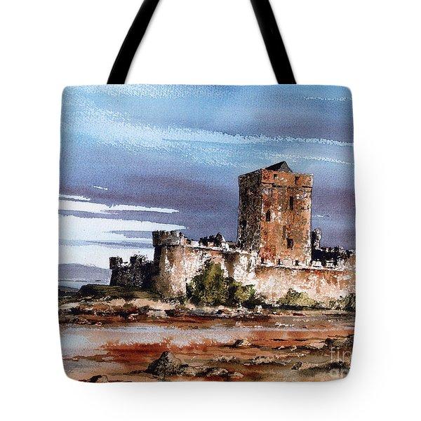 Doe Castle In Donegal Tote Bag