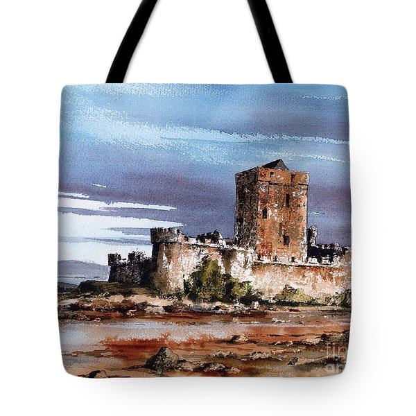 Doe Castle In Donegal Tote Bag