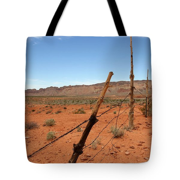 Tote Bag featuring the photograph  Don't Fence Me In by Tammy Espino