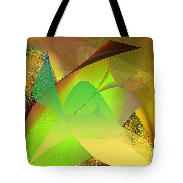 Tote Bag featuring the digital art  Dreams - Abstract by Gerlinde Keating - Galleria GK Keating Associates Inc