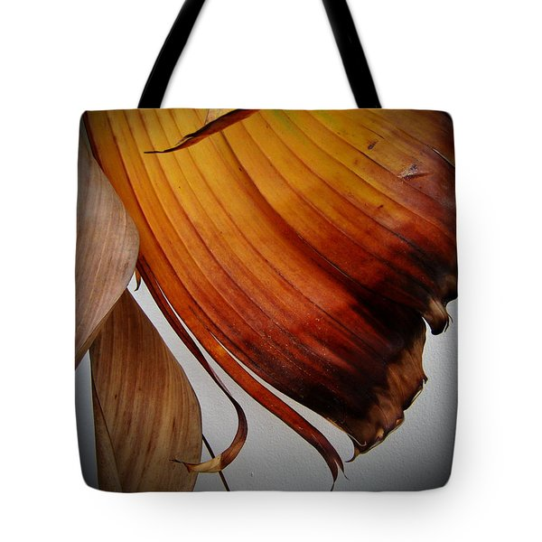 Dried Leaves Tote Bag by Michelle Meenawong