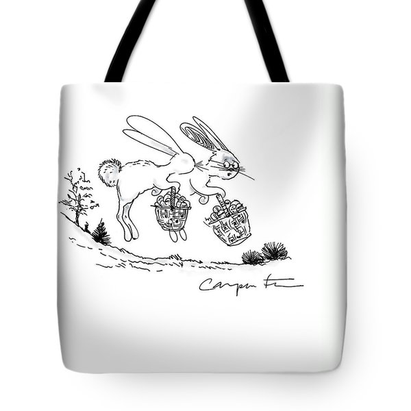 Easter Bunny Truth  Tote Bag