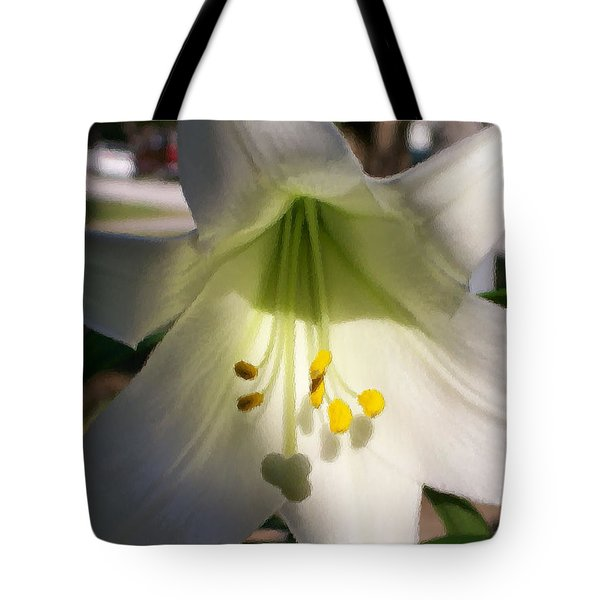 Tote Bag featuring the photograph  Easter Peace by Belinda Lee
