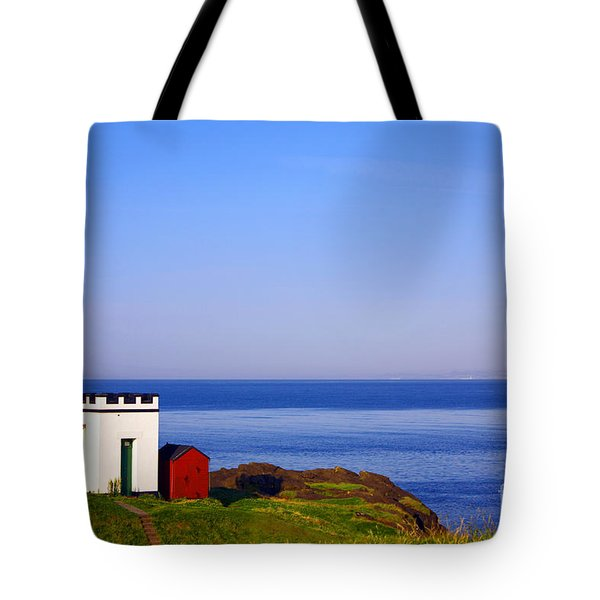 Elie Lighthouse Tote Bag