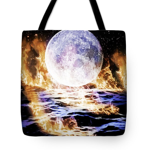 Emotions On Fire Tote Bag