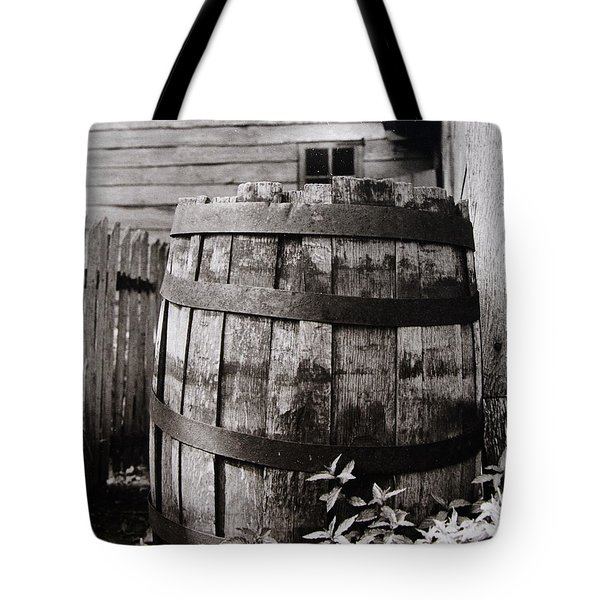 Tote Bag featuring the photograph  Ephrata Cloisters Barrel by Jacqueline M Lewis