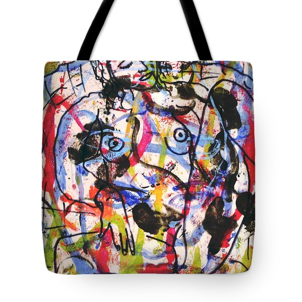 Erotic Nude Tote Bag by Natalie Holland