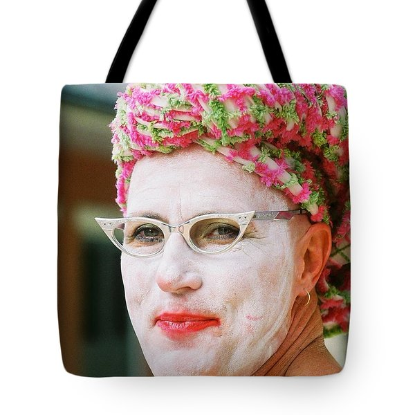 Eye See Colours Of Noxie Noxzema At The Southern Decadence In New Orleans Louisiana Tote Bag by Michael Hoard