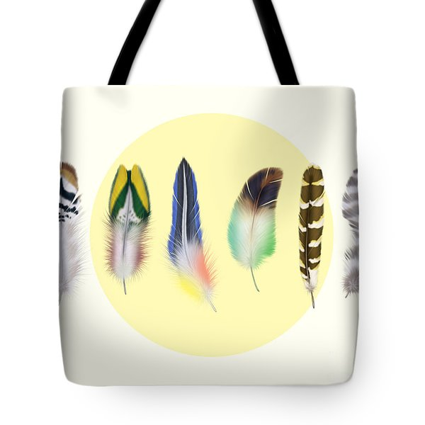 Feathers 2 Tote Bag by Mark Ashkenazi