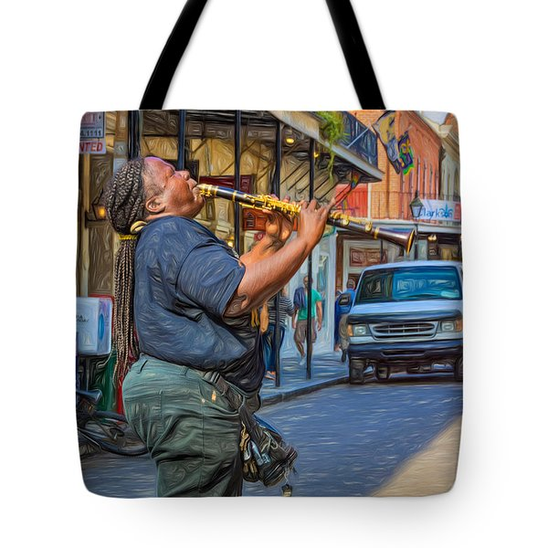 Feel It - Doreen's Jazz New Orleans 2 Tote Bag