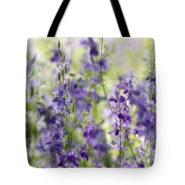 Fields Of Lavender  Tote Bag