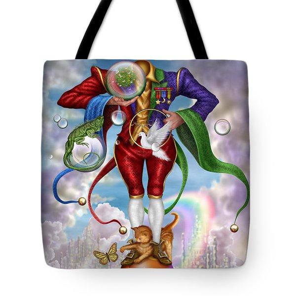 Fool Of Dreams Tote Bag by Ciro Marchetti