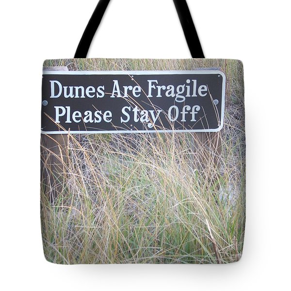 Tote Bag featuring the photograph Sand Dune  by Eunice Miller