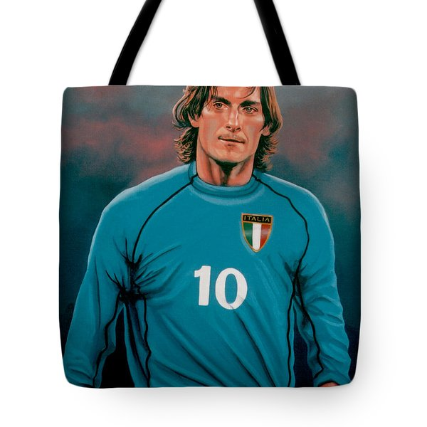 Francesco Totti 2 Tote Bag