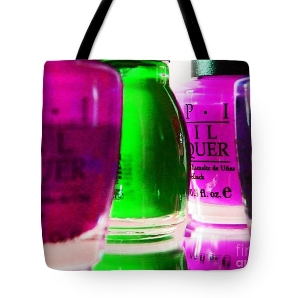 Girly Paint Tote Bag