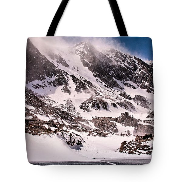 Glass Lake Tote Bag by Steven Reed