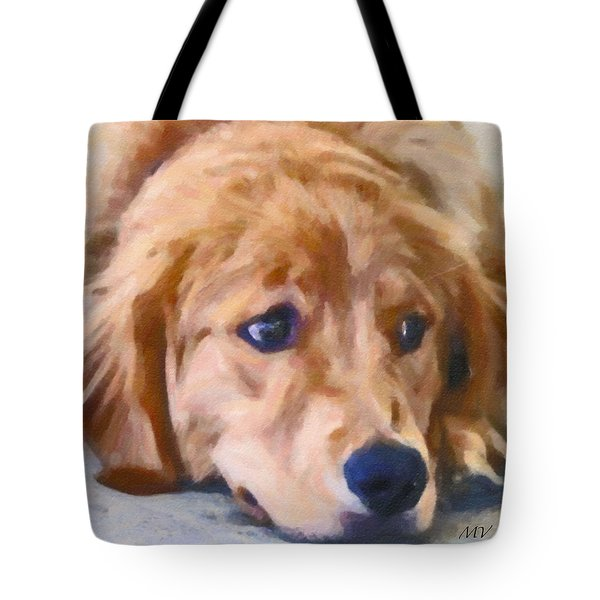 Golden Retriever Dog Tote Bag