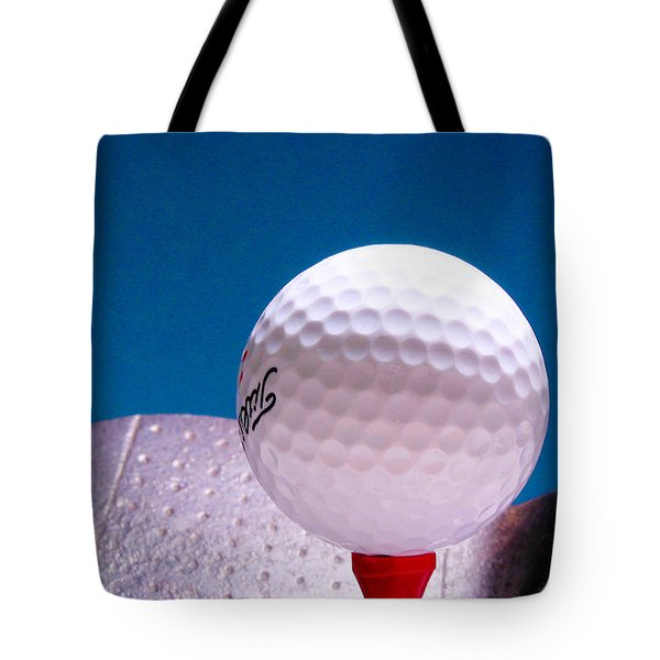 Golf Tote Bag by David and Carol Kelly