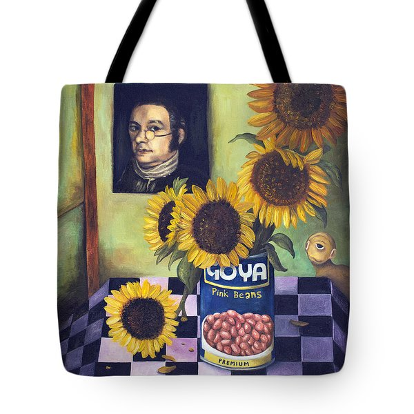 Goyas Tote Bag by Leah Saulnier The Painting Maniac