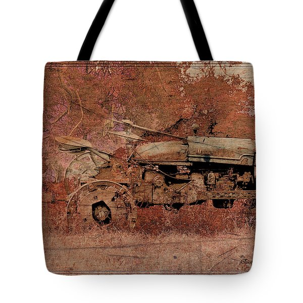 Grandpa's Old Tractor Tote Bag