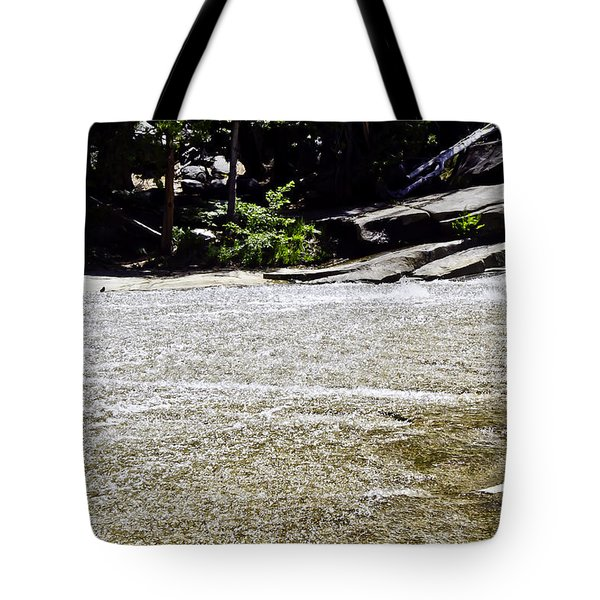 Tote Bag featuring the photograph  Granite River by Brian Williamson