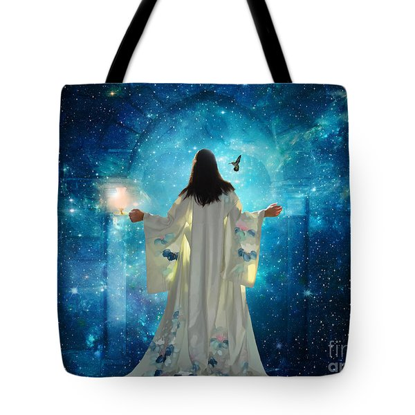 Heavens Door Tote Bag