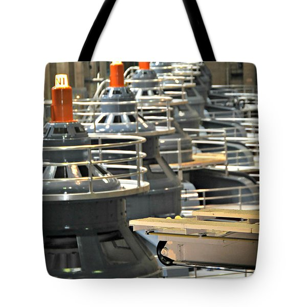 Hoover Dam Generators Tote Bag