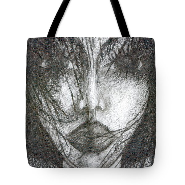 I Will Become With You Tote Bag by Wojtek Kowalski