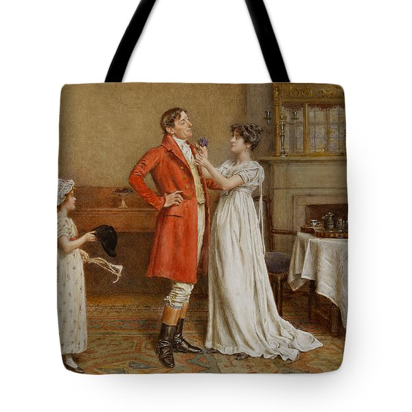 I Wish You Luck Tote Bag by George Goodwin Kilburne