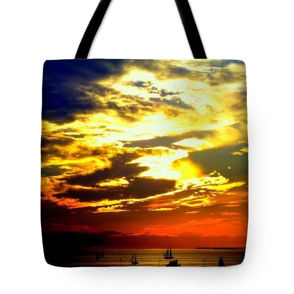Imagine Tote Bag by Karen Wiles