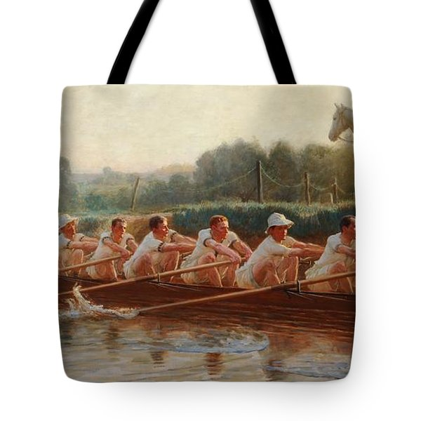 In The Golden Days Tote Bag by Hugh Goldwin Riviere