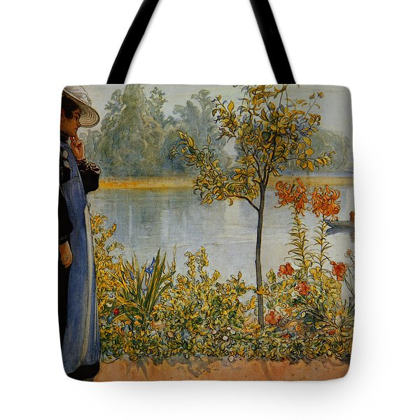 Indian Summer Tote Bag by Carl Larsson