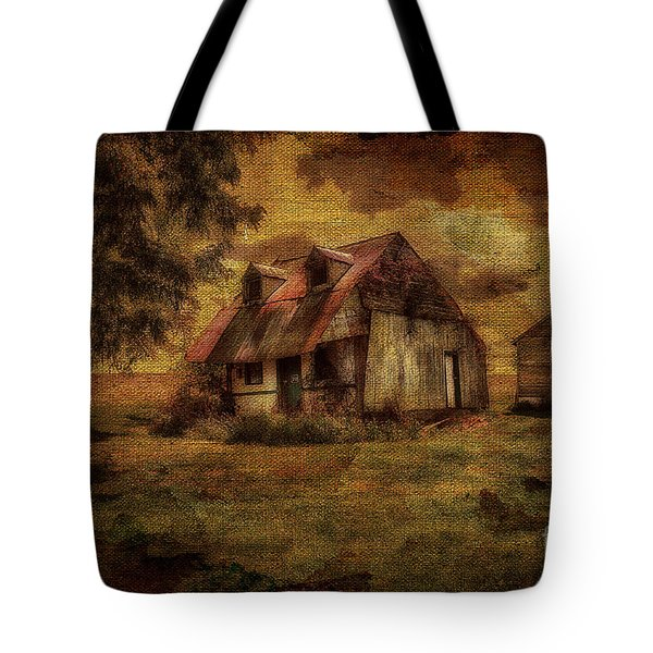 Just Biding Time Tote Bag by Lois Bryan