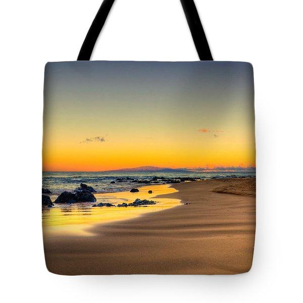 Keawakapu Beach Sunrise Tote Bag