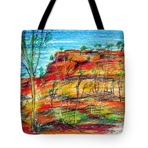 Kimberly Bold Cliffs Australia Nt Tote Bag
