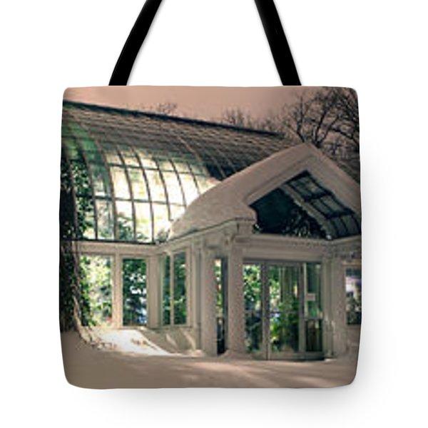 Lamberton Conservatory Tote Bag by Richard Engelbrecht