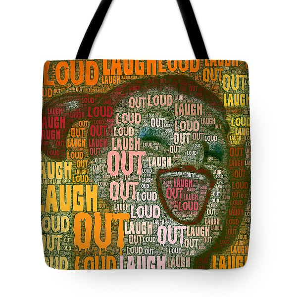 Tote Bag featuring the photograph  Laugh Out Loud  by Linda Weinstock