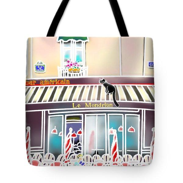 Le Mondrian Tote Bag